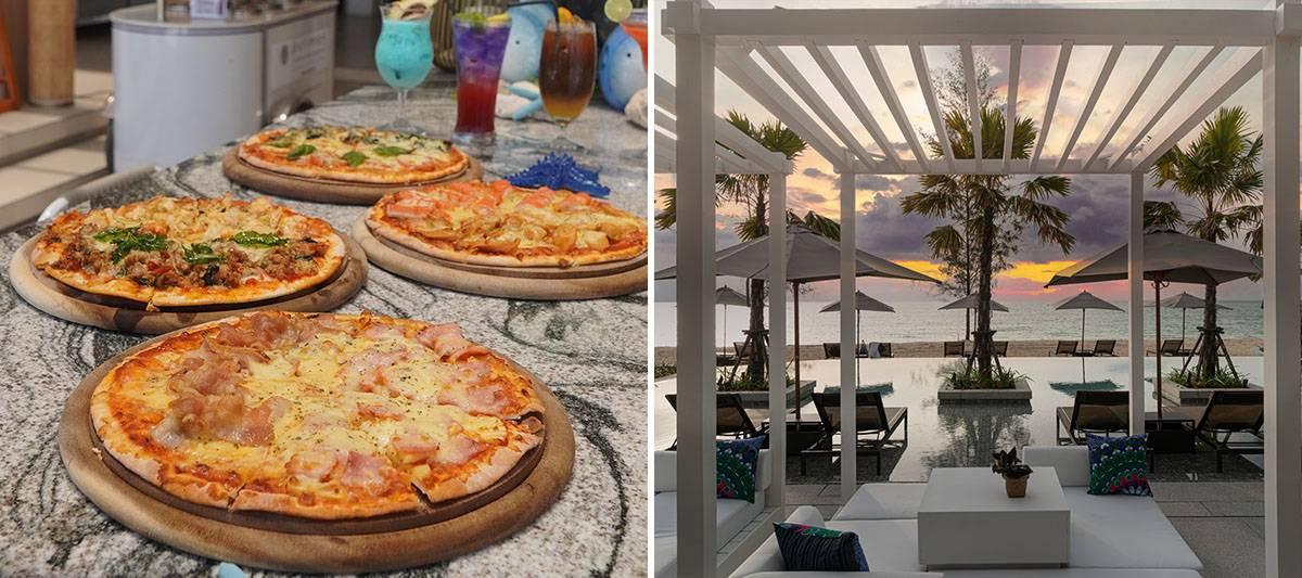 Kram Beach Club Pizza Promotion